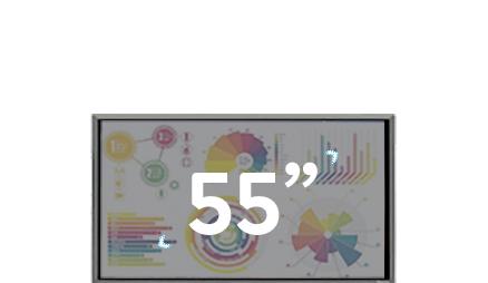 écran 55 pouces