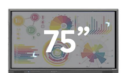 écran 75 pouces