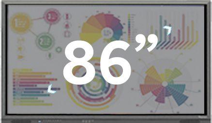 écran 86 pouces